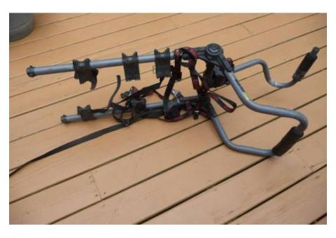 Trunk-mounted bicycle rack for 3 bikes--Rhode Gear