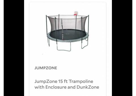 15' Trampoline (JumpZone)