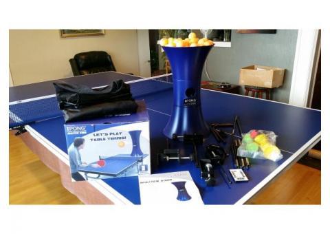 iPong Table Tennis Training Robot - $80 (Tracyton)