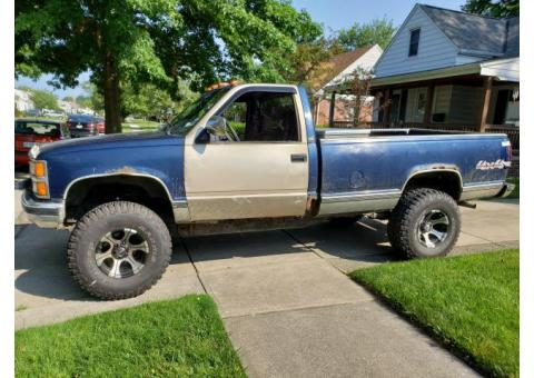 1996 Chevy Cheyenne (NEEDS WORK!)